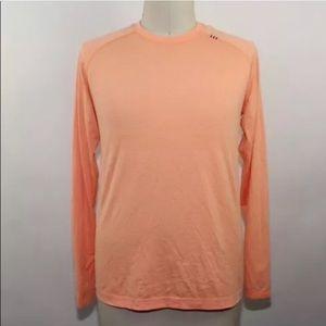 Lululemon Men's orange long sleeve